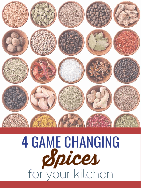 Check out these 4 Game Changing Spices for your kitchen that will help add a little extra something to your cooking game.