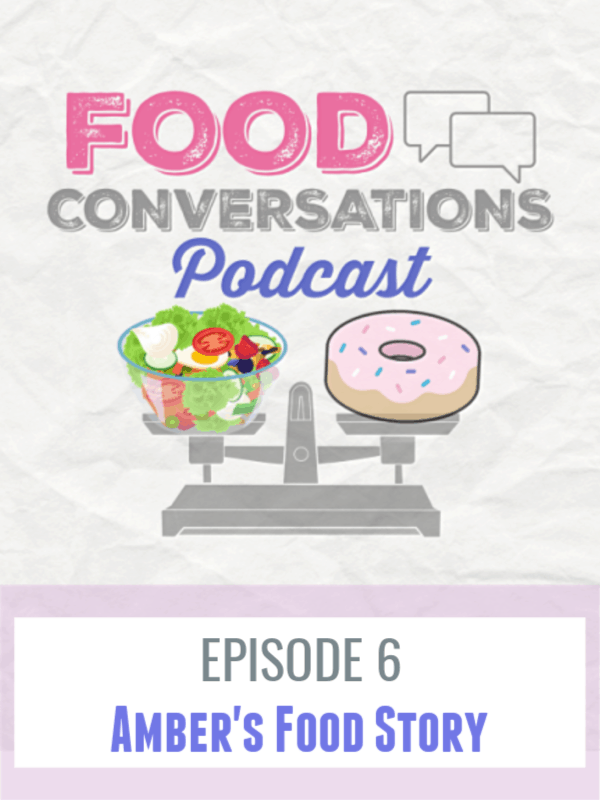 Food Conversations Podcast Ep 6 -Ambers Food Story