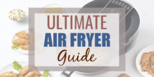 What is an air fryer? An air fryer cooks food using convection with dry heat using air circulation that gives food a crispy fried texture. This best air fryer guide will help you choose which air fryer to buy as well as air fryer cooking tips and how to buy an air fryer. #airfryer #airfryerrecipes #recipes