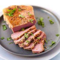 sous vide corned beef