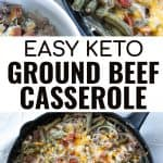 keto casserole with green beans