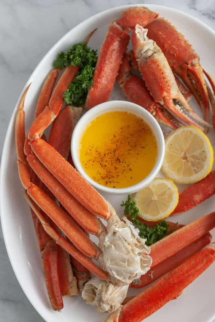 instant pot steamed crab legs
