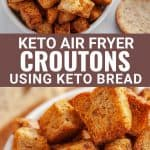 keto air fryer croutons