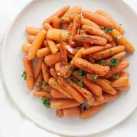 sous vide baby carrots