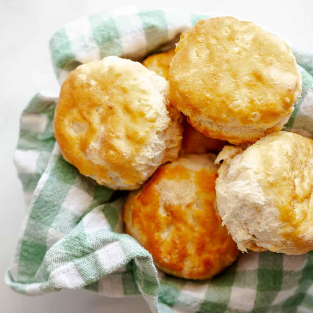 air fryer frozen biscuits