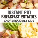 pressure cooker breakfast potatoes