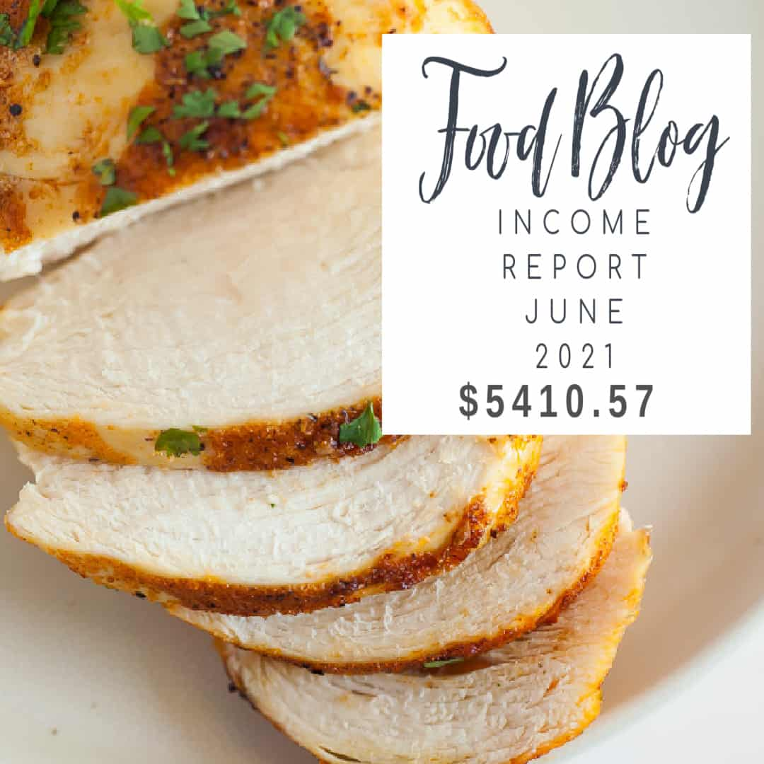 food blog income report june 2021