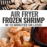 frozen shrimp in the air fryer