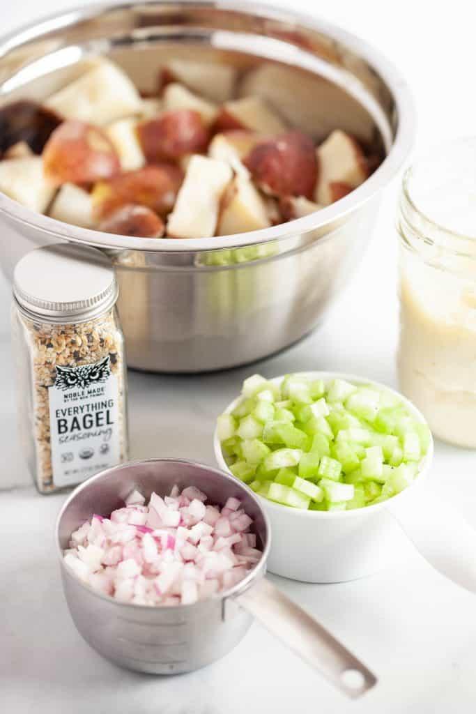 everything bagel potato salad ingredients