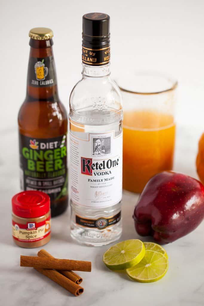 apple cider moscow mule ingredients